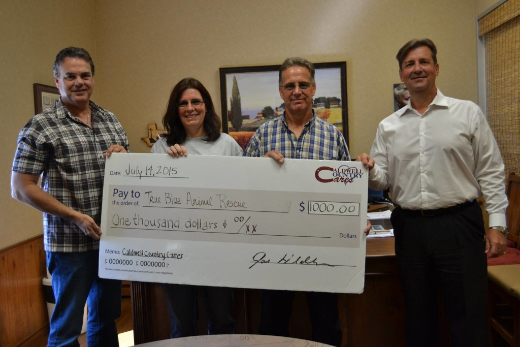 True-Blue-Animal-Rescue-Caldwell-County-Chevrolet-Donation